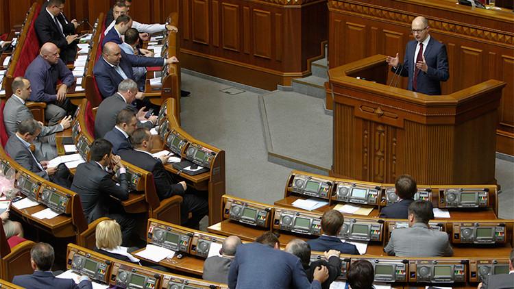 """""""Escaños parlamentarios en Ucrania fueron comprados por millones de dólares"""""""
