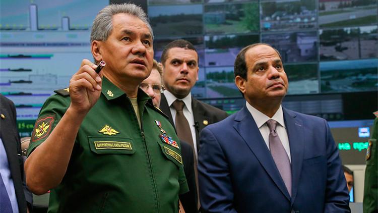 El presidente egipcio visita el sanctasanctórum de las Fuerzas Armadas rusas
