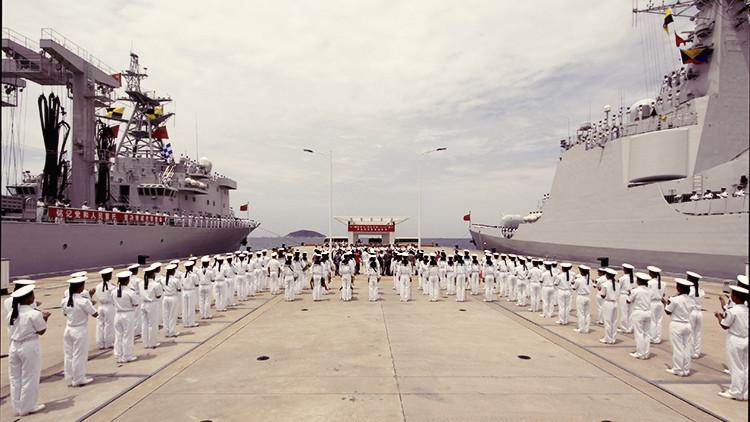 China realiza un simulacro de combate a gran escala en zonas en disputa