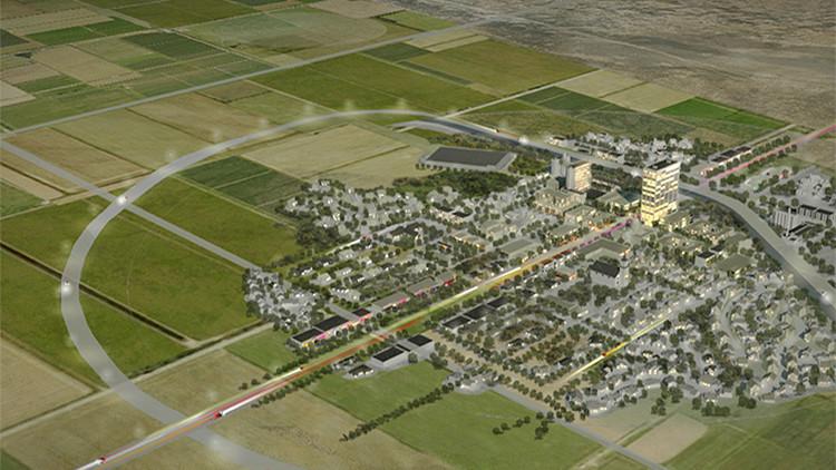 'Ciudad fantasma': Conozca la innovadora urbe proyectada en el desierto
