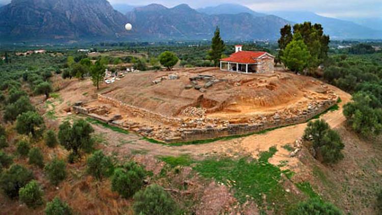 Fotos: Arqueólogos hallan el antiguo Palacio Perdido de Esparta