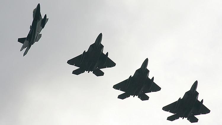 Los cazas estadounidenses de quinta generación F-22 llegan a Alemania
