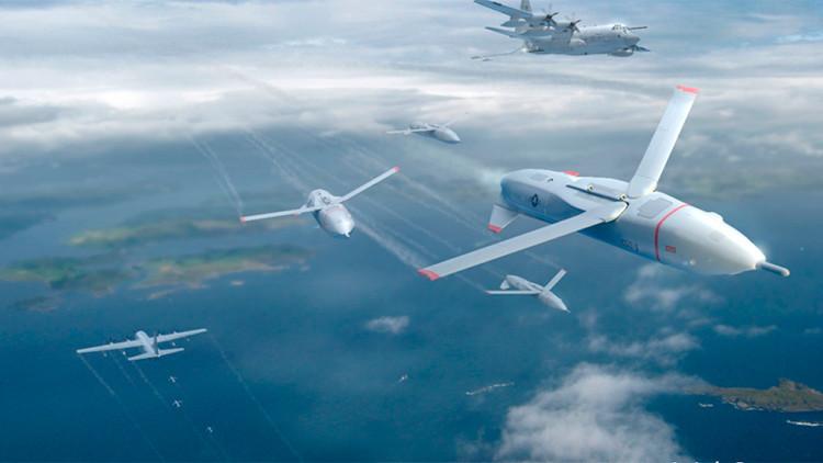 EE.UU. creará drones capaces de lanzarse y aterrizar en otros aviones en pleno vuelo