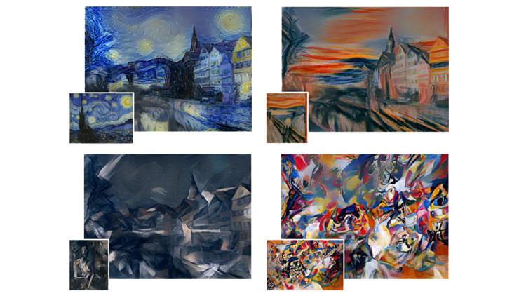 ¿Picasso o Van Gogh? Un nuevo algoritmo puede recrear cualquier foto al estilo de grandes artistas