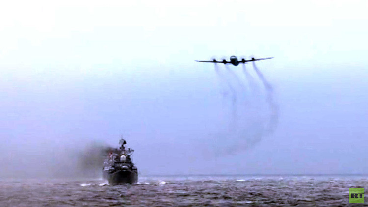 """""""Maniobras sin precedentes"""": RT, testigo de los mayores ejercicios navales ruso-chinos"""
