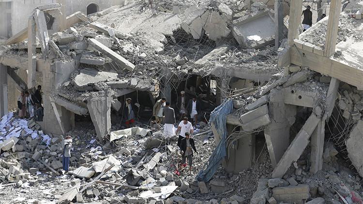 Al menos 36 muertos por un ataque aéreo saudí en Yemen