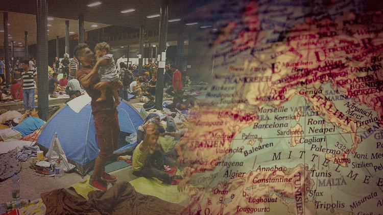 Mapa: ¿Cómo se distribuyen los refugiados en la peor crisis migratoria en Europa?