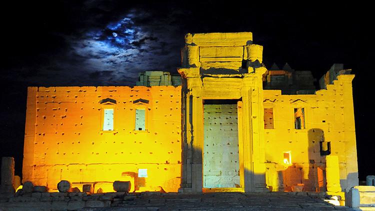 El Estado Islámico destruye otro templo antiguo en Palmira