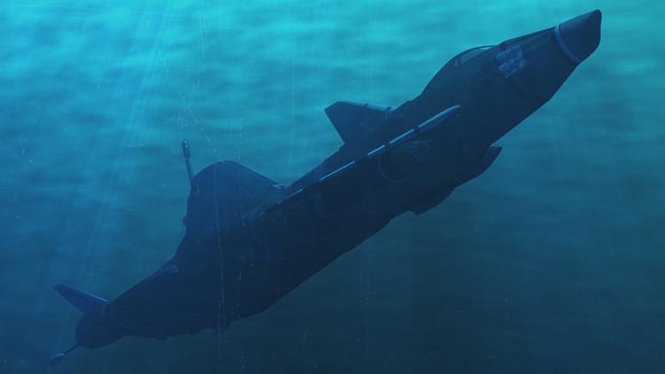 Visión del futuro: El Reino Unido presenta su innovador buque de guerra de 'dentro de 35 años'