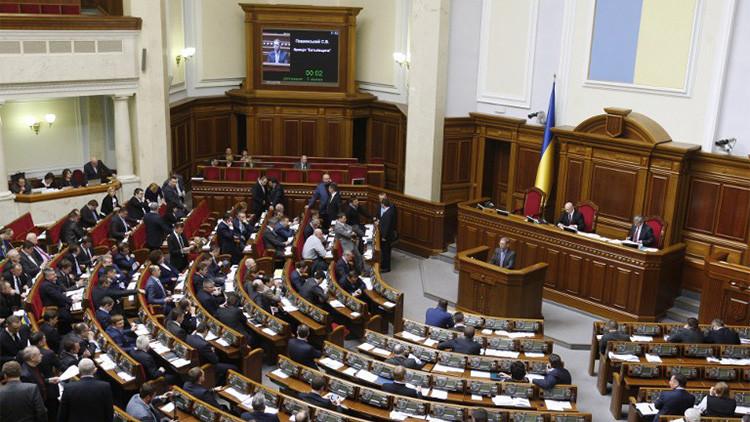 El Parlamento de Ucrania aprueba la descentralización del país