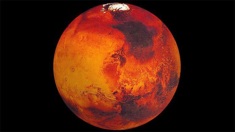 Fotos: Las 'pruebas' más extravagantes de la existencia de vida en Marte