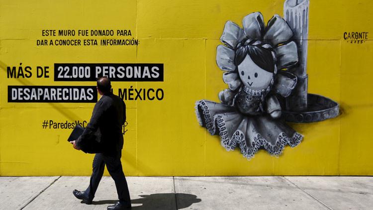 En México desaparece una persona cada dos horas