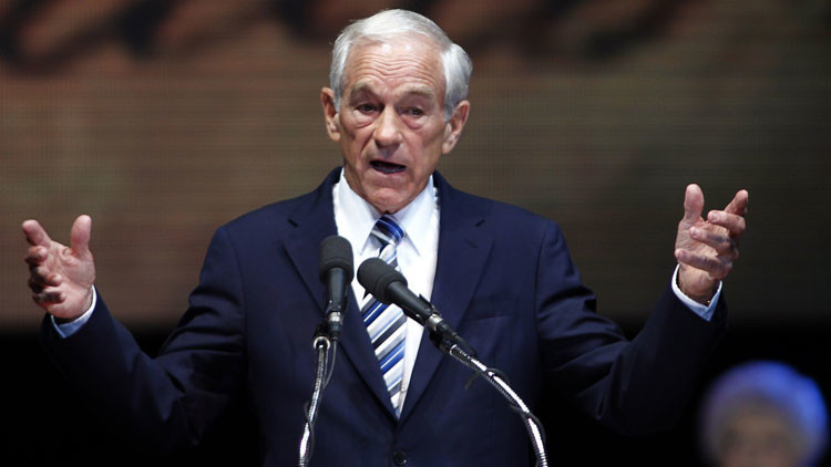 "Ron Paul: ""Culpen a la Reserva Federal y no a China del desplome financiero mundial"""