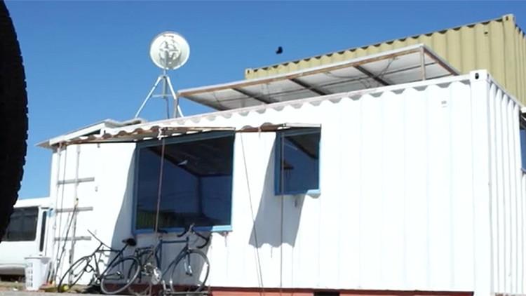 ¿Un proyecto revolucionario? Contenedores de transporte como casas