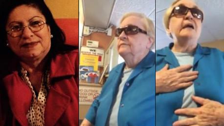 """EE.UU.: Una anciana muestra su racismo a una latina por """"no saber"""" hablar inglés (video)"""