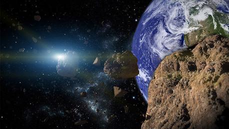 ¿Qué pasaría con la Tierra si chocara con un asteroide de 300 metros?