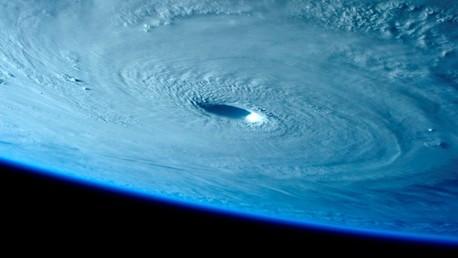 La furia de la madre naturaleza vista desde el espacio
