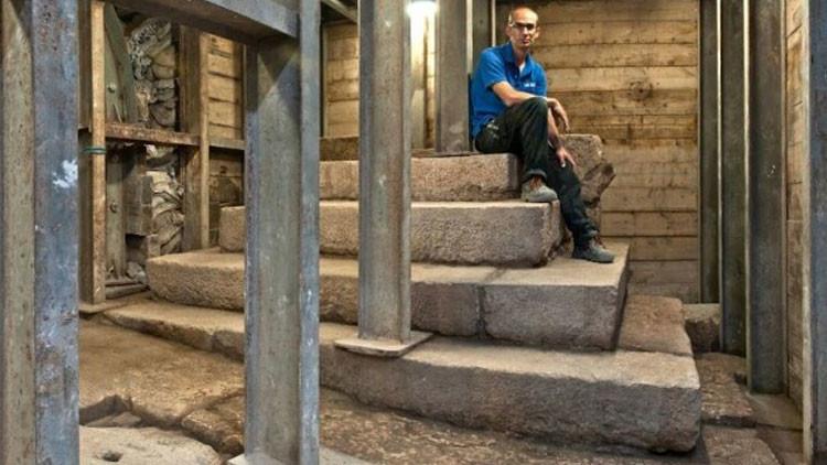 Israel: Hallan un misterioso podio de 2.000 años de antigüedad en Jerusalén