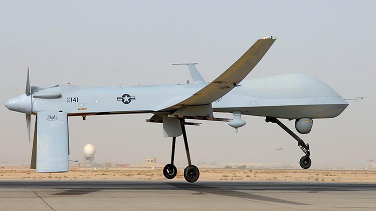Estados Unidos despliega dos drones asesinos MQ-1 Predator en la frontera rusa