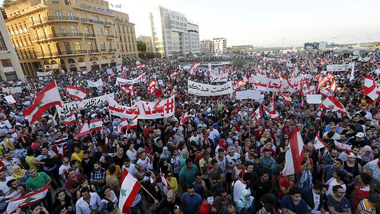 Líbano: Manifestantes toman el Ministerio de Medio Ambiente