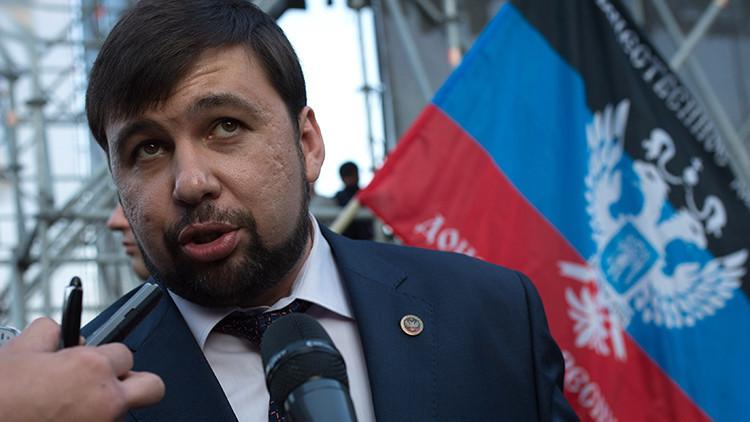 """""""Donetsk está dispuesto a sincronizar la legislación electoral con Kiev y la OSCE"""""""