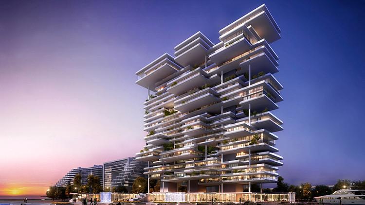 Fotos: descubra cómo es por dentro el lujoso ático más caro de Dubái