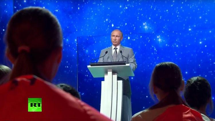 El presidente ruso Vladímir Putin comparte el secreto del éxito