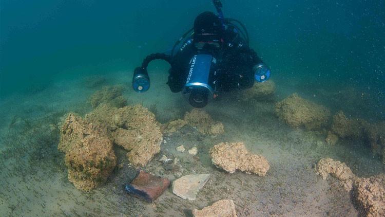 Encuentran misteriosa ciudad 'bíblica' perdida bajo un lago