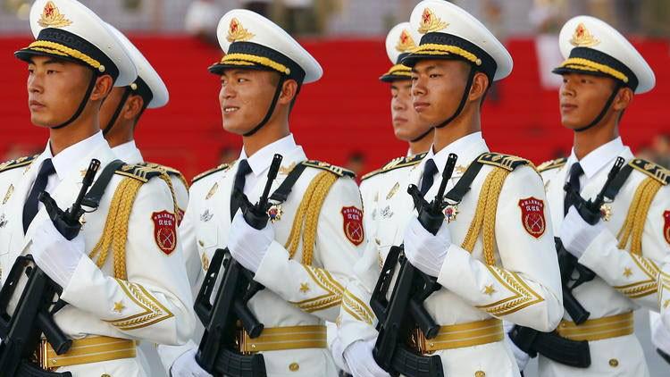 China reduce el tamaño de su ejército