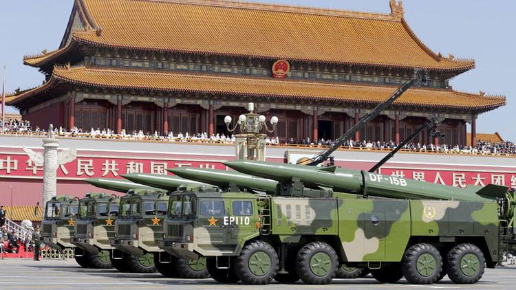 China exhibe su nuevo arsenal nuclear en un desfile militar que recuerda el fin de la Segunda Guerra