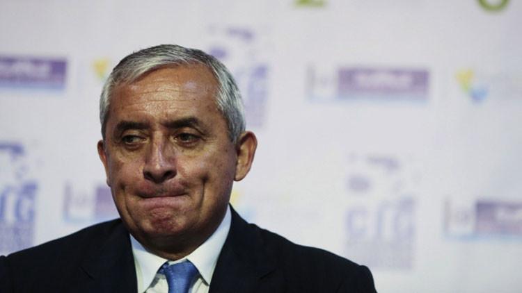 Guatemala: Emiten una orden de arresto contra el presidente Otto Pérez Molina