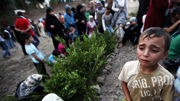 """""""Paren la guerra"""": la desgarradora súplica de un niño sirio (Video)"""