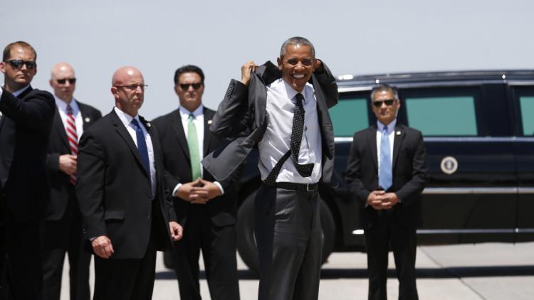 Publican fotografías de escoltas de Obama desde el corazón del servicio secreto