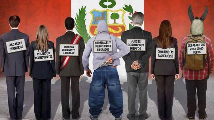"""""""Chapa tu chorro y déjalo paralítico"""": La campaña de justicia popular sale de control en Perú"""