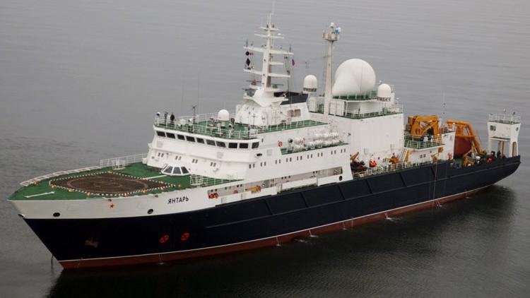 El Pentágono espía al barco de la Armada rusa Yantar