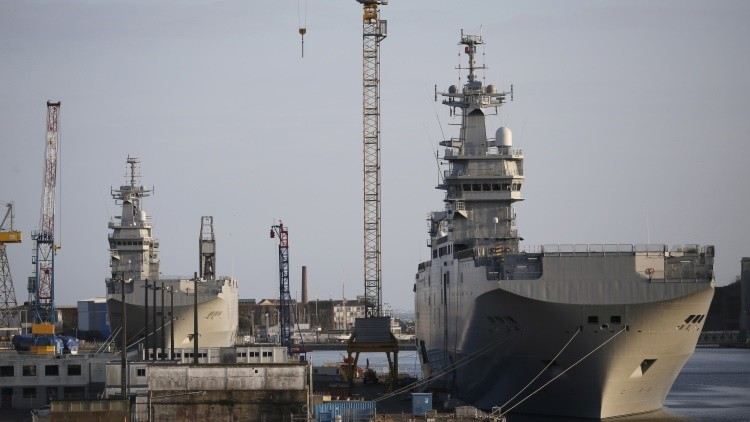Países árabes comprarán los Mistral construidos para Rusia