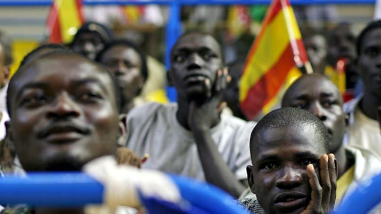 Inmigrantes africanos en España