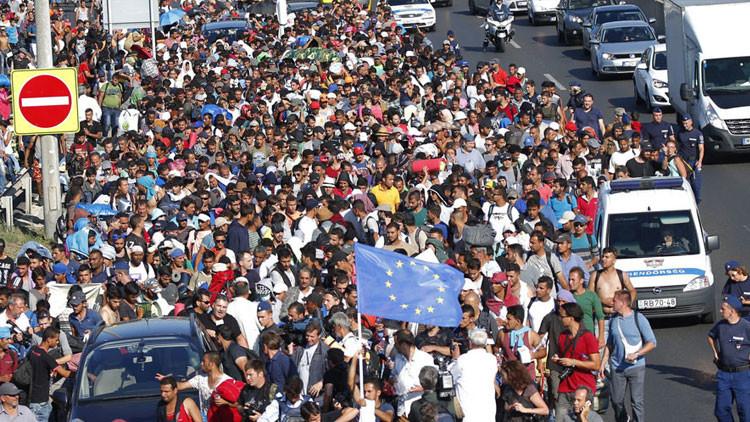 Austria y Alemania abren paso a miles de refugiados que se encuentran en Hungría
