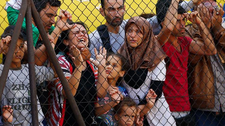 """""""La crisis migratoria en Europa ha sido creada por la élite política para su beneficio electoral"""""""