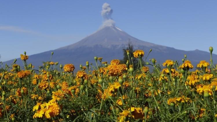 El volcán Popocatépetl puede detener hundimiento de la Ciudad de México