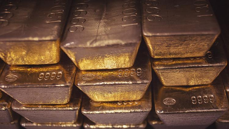 Registran un declive jamás visto en los depósitos de oro del banco de la Fed de Nueva York
