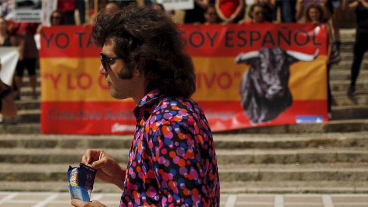 """Torero en una manifestación antitaurina: """"Yo no soy un asesino"""""""
