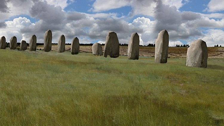 Stonehenge II: Descubren un monumento megalítico cerca de la joya inglesa