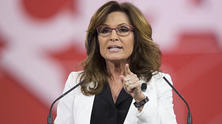 """Sarah Palin a los inmigrantes: """"¿Quieren estar en EE.UU.? Hablen estadounidense"""""""