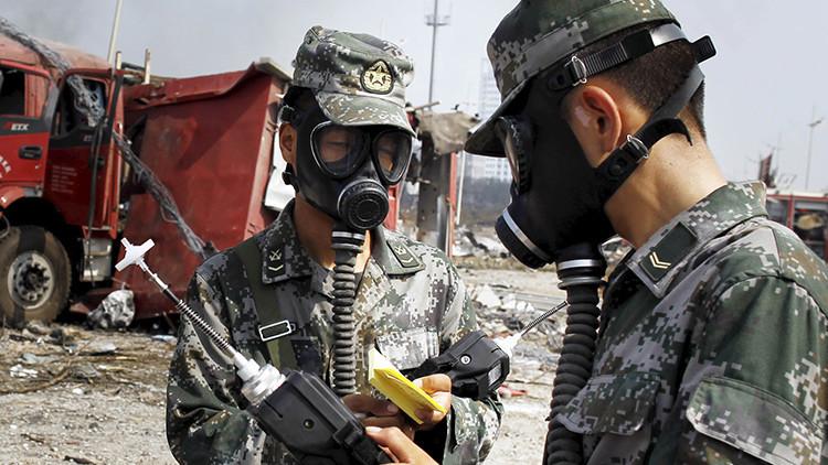Se produce una fuerte explosión en una fábrica de productos químicos en el este de China