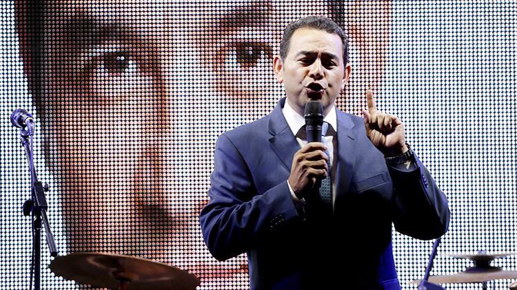 De comediante a candidato a la presidencia de Guatemala: ¿Quién es Jimmy Morales?