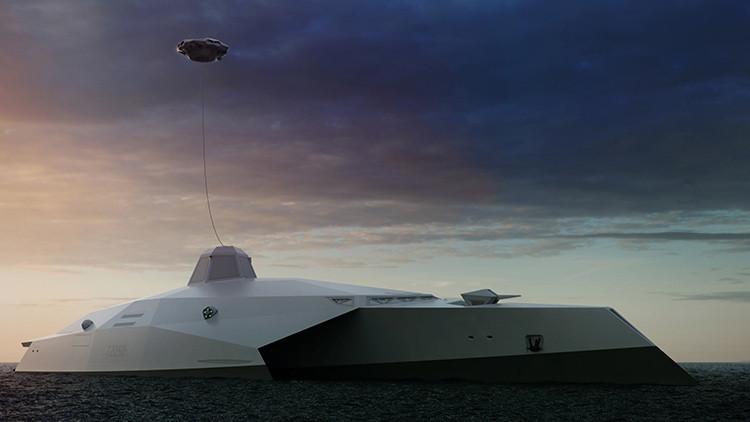 El Reino Unido concibe un buque de guerra que hará 'jubilarse' a las flotas modernas