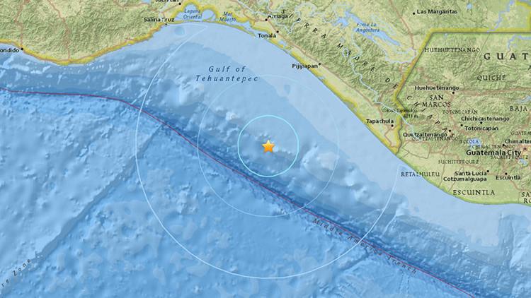 Un terremoto de magnitud 5,5 sacude la costa mexicana