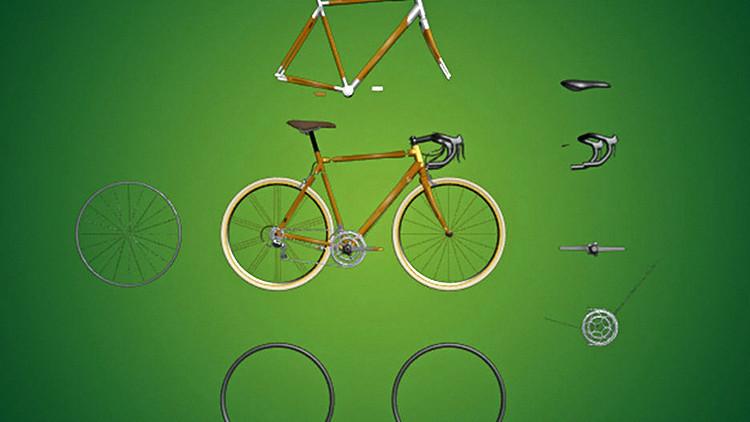 Estudiantes mexicanos desarrollan una bicicleta de bambú con todos los avances electrónicos