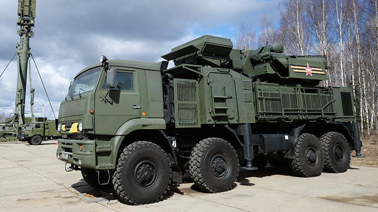 Brasil comprará docenas de sistemas antiaéreos rusos Pántsir-S1 en 2016